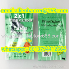 sale paradise ultra plus 2x1 penis enlargement product medicine with accept paypal