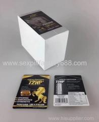 natural gold PACKAGE 72 HP enlargement sex enhancement sexual medicine with 24capsules