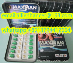 8 capsules maxman V enhance penis products
