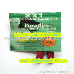 natural sale paradise ultra plus 2x1 male sex medicine 0.2usd with shipping