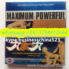 black Maximum Powerful sexual tablets premature ejaculation