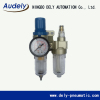 AC BC series triple unit combination(F.R.L combination)filter regulator lubricator