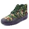 Vulcanization men military footwear