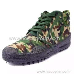Vulcanization men military shoes