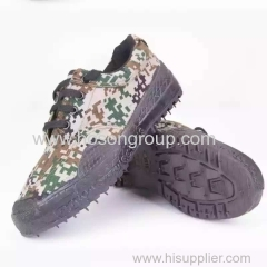 Military men canvas lace shoes