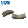 Motor stator arch type magnetic ferrite block material