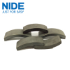 Arch type ferrite magnet material for general dynamo and standard motors