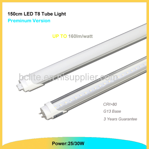 Led T8 Tube 1.5m 30W Led Lighting Lamp G13 lampara de tube LED