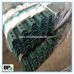 Powder coated steel u channel post