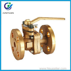 Bronze flange type dn40 ball valve
