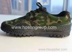Vulcanization military lace men footwear