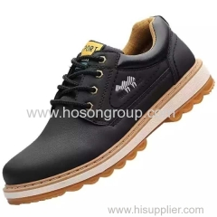 Men PU casual footwear