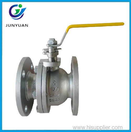 API 6D WPB/SS304 RF/BW Full Weld Ball Valve with Lever or Gear Operated