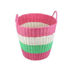 Plastic Laundry Basket With Handles
