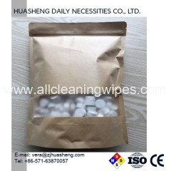 Disposable Tablet napkin Compressed