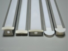 Recessed aluminum profile LED linear light
