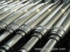 Back up roll shaft