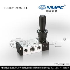 5 way pneumatic hand valve