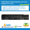 4X4 Matrix Switch and Cat5e HDMI Extender over IP