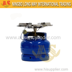 New LPG Cylinders Cylinder With Burner Camping Used