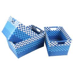 Plastic Eco-friendly Woven Storage Box