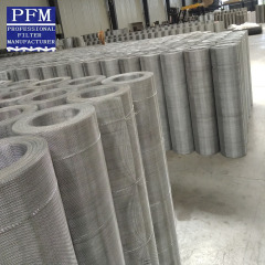 plain weave crimped wire mesh