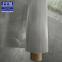 150 micron woven metal fabric