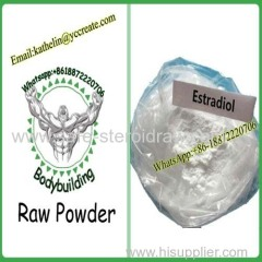 Estrogen Steroid Powder Estradiol / E2 / Oestradiol For Female Sex Hormone CAS 50-28-2