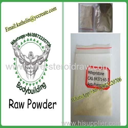 Female Esterogen RU-486 Abortion Raw Powder Mifepristone CAS No. 84371-65-3 for Anti-Pregnancy