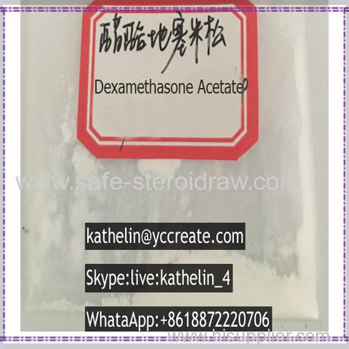 Glucocorticoid Anti-inflammatory Agent Dexamethasone Acetate CAS:1177-87-3