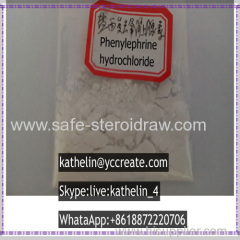 Adrenoceptor Agonists Raw Powder Phenylephrine Hydrochloride Phenylephrine HCL CAS No.: 61-76-7