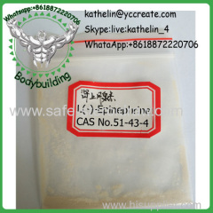 Health Lose Weight Hormone Powder L(-)-Epinephrine CAS 51-43-4 strength and performance