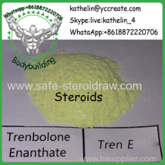 Steroid Raw Powder Trenbolone Enanthate / Tren E For Bodybuilding CAS No.: 472-61-546