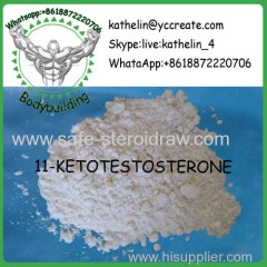 Steroid Raw Powder 11-KETOTESTOSTERONE / 4-ANDROSTEN-17BETA-OL-3 For Bodybuilding CAS:564-35-2