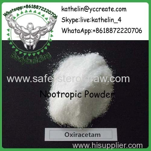 Nootropic Raw Powder Oxiracetam For Brain Health CAS:62613-82-5