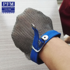 Butcher protection stainless steel wire mesh glove
