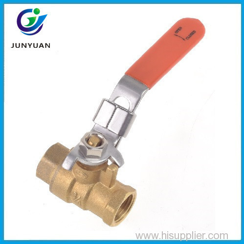 Good quality proof stem ptfe seats bronze ball valve