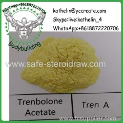Steroid Raw Powder Trenbolone Acetate / Tren Ace For Making Gear At Home CAS 10161-34-9