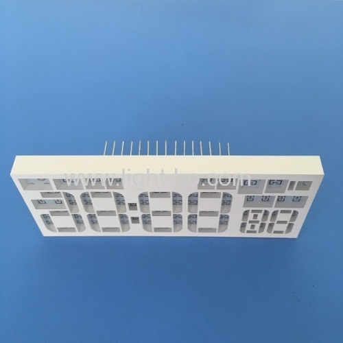 Customzed ultra bright white 7 segment led display common cathode for Sound