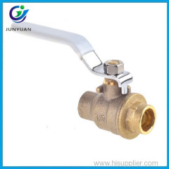 Lockable full flow flat lever best quality brass ball valve handles