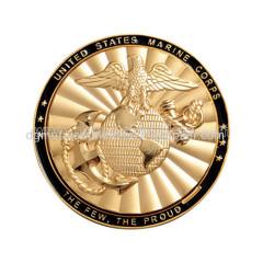 Custom metal challenge coins