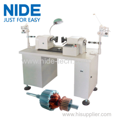 Semi-auto electric motor armature windng machine rotor coil winding machine