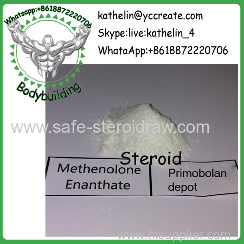 Steroid Raw Powder Methenolone Enanthate / Primobolan depot For Bodybuilding CAS 303-42-4