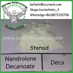 Steroid Raw Powder Nandrolone Decanoate / Deca Hormone Powder CAS: 360-70-3