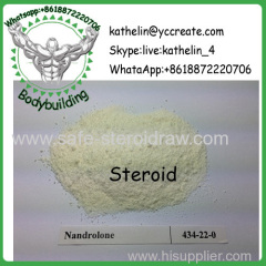 Hormone Steroid Nandrolone / Nandrolone Base / Norandrostenolon Powder CAS: 434-22-0