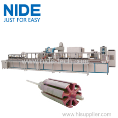 automatic armature powder coating equipment rotor Electrostatic powder coating oven machine