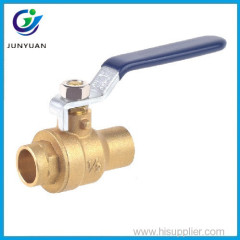 Trade assurance after-sales service water brass ball cock valve