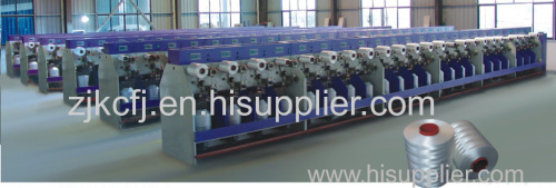 Textile direct cabling machine