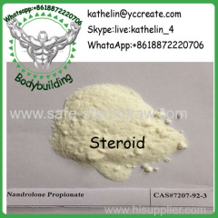Steroid Powder Nandrolone Propionate / Nandrolone Prop Hormone Steroid Cycle CAS: 7207-92-3