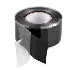 3M Black Self-Fusing Silicon Rubber Tape